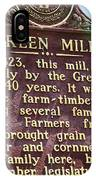 Mill Description IPhone Case