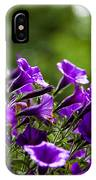 Mill Hill Inn Petunias IPhone Case