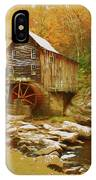 Grist Mill In West Virginia IPhone Case by Ola Allen