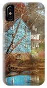 Mill - Walnford, Nj - Walnford Mill IPhone Case