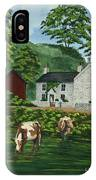 Milldale In Staffordshire IPhone Case