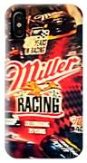 Miller Racing Sign 25th Year IPhone Case