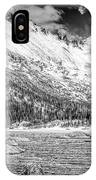 Mills Lake Monochrome IPhone Case