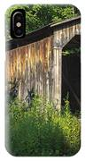 Milton Dye Covered Bridge  IPhone Case