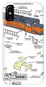 Milwaukee Road Sd-40 Pop-art IPhone Case