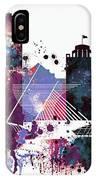 Milwaukee Watercolor Skyline IPhone Case