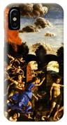 Minerva Chasing The Vices From The Garden Of Virtue 1502 IPhone Case