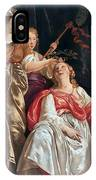Minerva Crowns The Maid Of Leiden IPhone Case