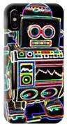 Mini D Robot IPhone Case