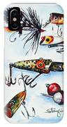 Mini Study- Fishing Lures IPhone Case