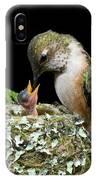 Miniature Sword Swallower IPhone Case