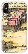 Minisink Village, 1650s IPhone Case