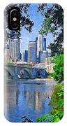 Minneapolis Through The Trees IPhone Case