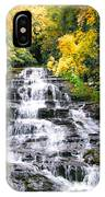 Minnihaha Falls In Autumn IPhone Case