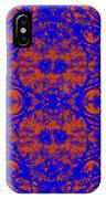Mirage In Blue - Abstract IPhone Case