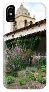 Mission Bells And Garden IPhone Case