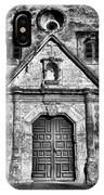 Mission Concepcion Front - Classic Bw IPhone Case