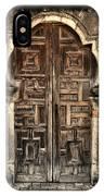 Mission Espada Door - 2 IPhone Case