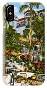 Mission Inn Spanish Patio 1940s IPhone Case