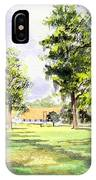 Mission San Luis IPhone Case