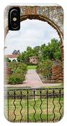 Mission San Luis Rey Carriage Arch IPhone Case