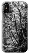 Missisquoi River In Vermont - 1 Bw IPhone Case