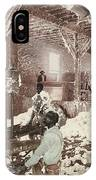 Mississippi Cotton Gin At Dahomey IPhone Case