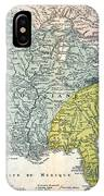 Mississippi Region, 1687 IPhone Case