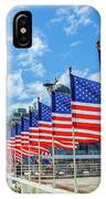Missouri Warship Memorial Flags IPhone Case