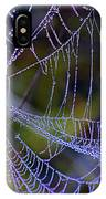 Mist In The Web  IPhone Case