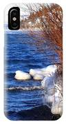 Mist On Kalamalka IPhone Case