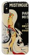 Mistanguette At The Casino De Paris IPhone Case