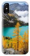 Misty Colchuck Lake IPhone Case
