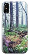 Misty Forest Gaudineer Scenic Area IPhone Case