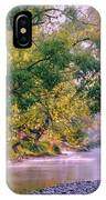 Misty Morning On Nariel Creek IPhone Case