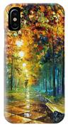 Misty Park IPhone Case