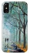 Misty Stroll IPhone Case