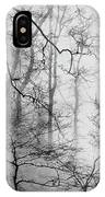 Misty Woods, Whitley Mill IPhone Case