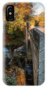 Mitford Bridge Over River Wansbeck IPhone Case