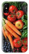 Mix Of Fruits, Vegetables And Berries IPhone Case