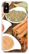 Mix  Of Spices IPhone Case