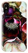 Mixed Hellebore IPhone Case