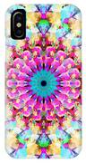Mixed Media Mandala 9 IPhone Case