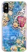 Mixed Media- Steampunk IPhone Case