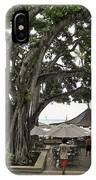 Moana Surfrider Banyan Court - Waikiki Beach IPhone Case