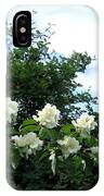 Mock Orange Blossoms IPhone Case