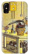 Model Kitchen, 1900s French Postcard IPhone Case