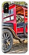 Model T Delivery IPhone Case