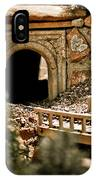 Model Train Tunnel 2 IPhone Case