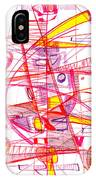 Modern Drawing Eighty-three IPhone Case